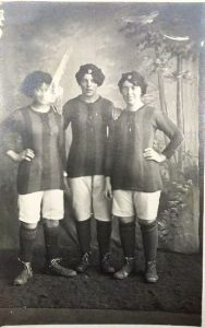 Three members of the Works Team