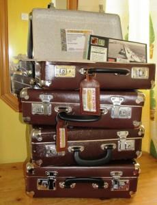 Rekindling Memories suitcases