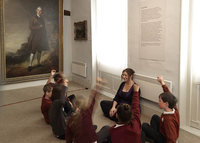 School children at Gainsborough House