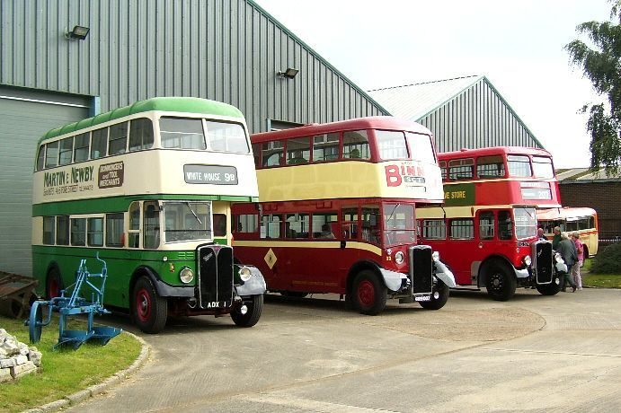 Ipswich Transport Museum - The Association for Suffolk Museums %