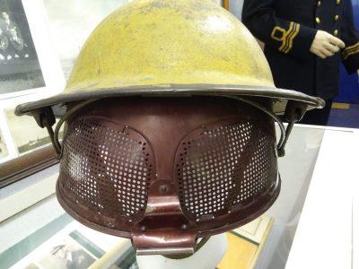 British WW2 Experimental Cruise Visor steel helmet